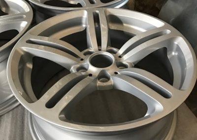 Прахово боядисване на алуминиеви джанти