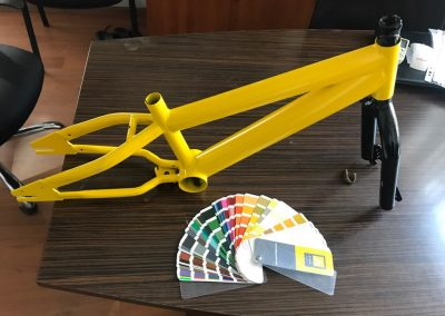 Прахово боядисване на велосипеди