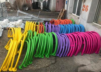 Прахово боядисване на съоражения за детски площадки